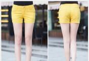 闷热的夏季呀,多彩的牛仔休闲短裤为你撑起整座天