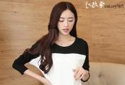 韩版长袖打底衫,让你拥有不臃肿的秋季
