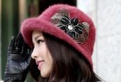 秋冬漂亮的帽子搭配专题