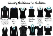 服饰搭配:项链应该如何与衣服领口搭配