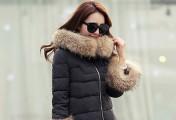 冬季经典黑色服装搭配 棉衣 大衣 羽绒服
