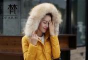 大帽子羽绒服 抵御冬季严寒