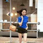 明星示范:周迅、李小璐、董洁示范矮小个子女生怎么穿衣搭配
