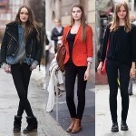 高个子女生怎么穿衣搭配好看:长裤