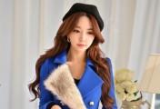 极致魅惑的蓝色妖姬_蓝色衣服怎么搭配