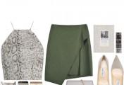 欧美风格服饰搭配实例图片