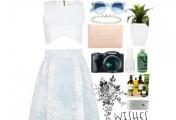 几套风格不同的衣服搭配图片_裙子怎么搭配