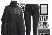 整套服饰搭配图片示例_春款服饰怎么搭配_黑色调衣服怎么搭配