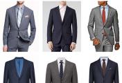 必备的男装单品有哪些?(一)中性色的西服套装 白色正装衬衫