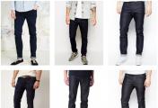 必备的男装单品有哪些?(二)深色修身牛仔裤 修身中性色T恤