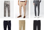 必备的男装单品有哪些?(四)中性色修身斜纹棉布裤 黑色正装鞋