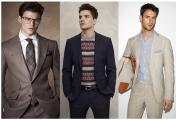 必备的男装单品有哪些?(六)中性色季节性西服套装 轻质牛津纺纽扣领衬衫
