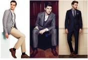 必备的男装单品有哪些?(七)中性色POLO衫 .棕色布洛克鞋