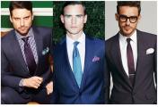 必备的男装单品有哪些?(八)中性色领带 口袋方巾