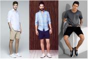 必备的男装单品有哪些?(九)修身短裤 中性色靴子
