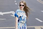 能让夏天降温的蓝色衣服