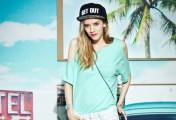 夏日绿色衣服搭配,从嫩绿到墨绿