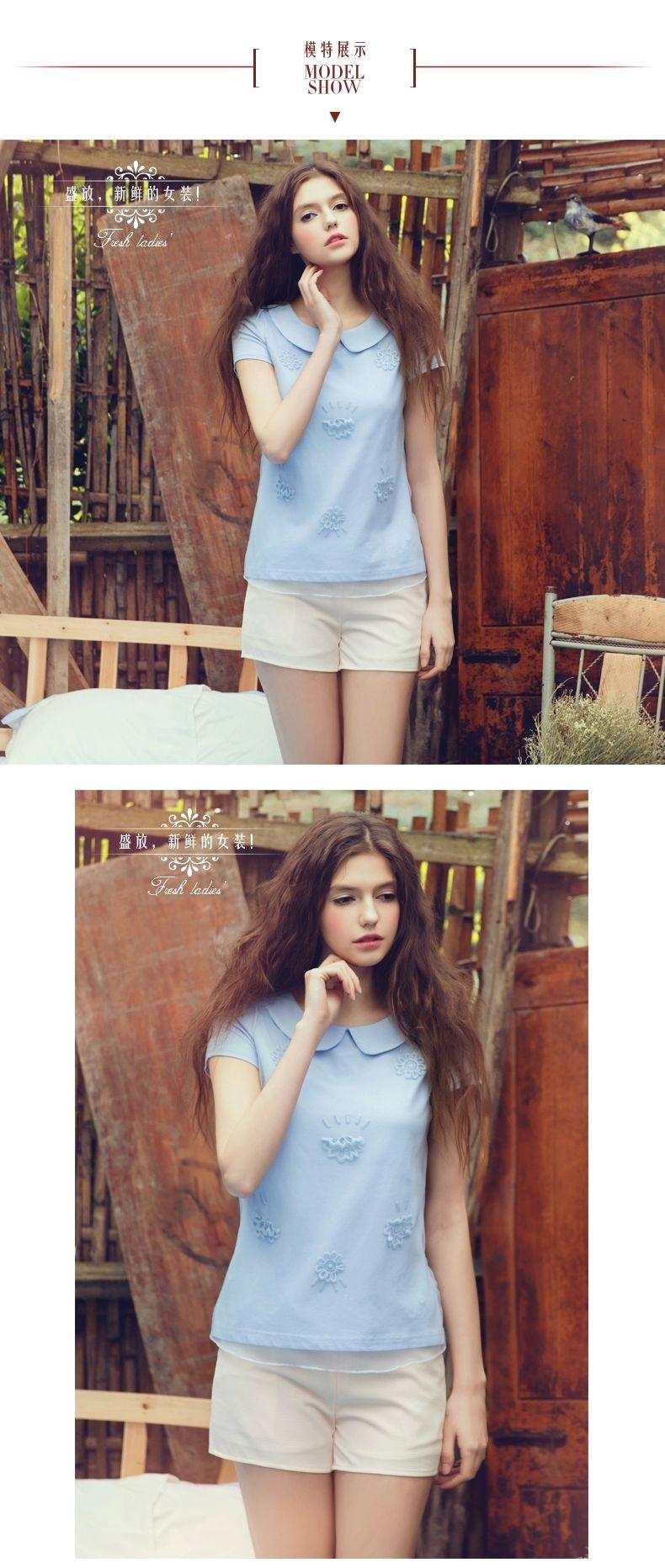纯棉短袖衬衫