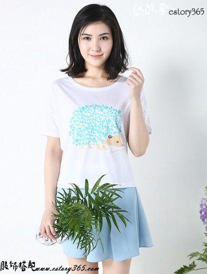 纯棉宽松T恤