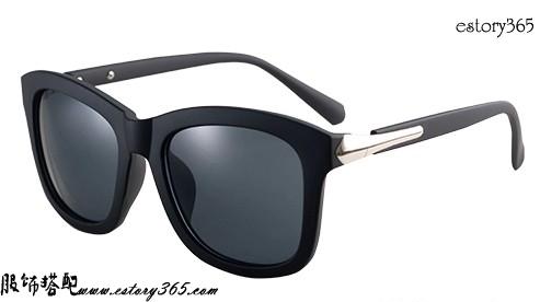 复古粗框偏光太阳眼镜