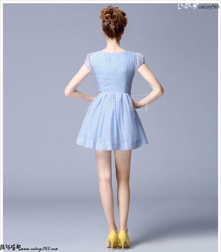 公主裙摆蓬蓬裙