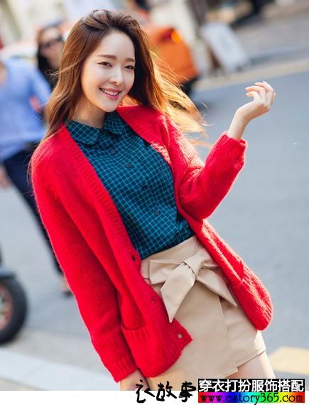 秋冬的毛线衫 很暖很阳光
