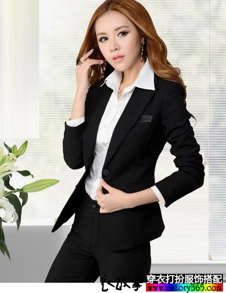 女士职业装套装