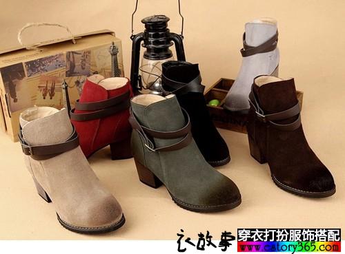 秋天鞋子怎么搭配!