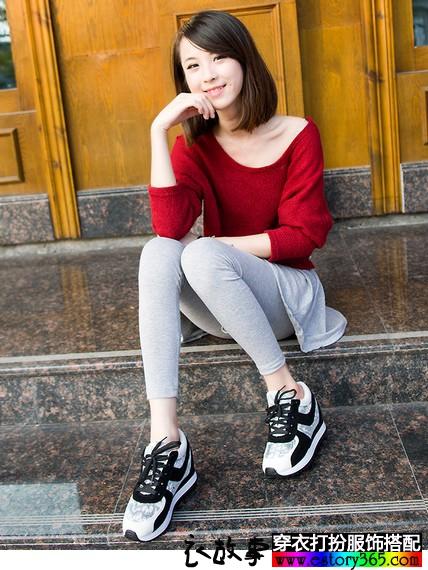 内增高运动休闲鞋