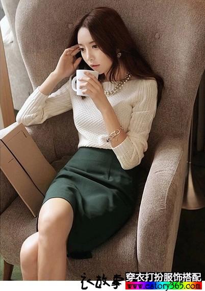 韩版羊毛针织衫