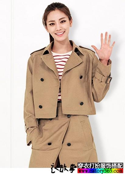 Nana林珍娜同款复古短外套