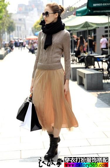 秋冬美裙为美丽加分