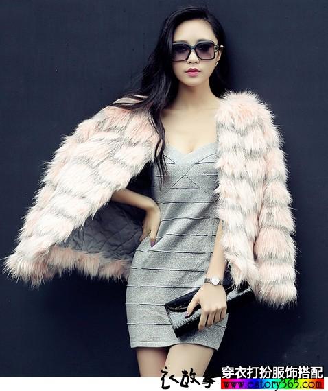 2014年皮草外套新款搭配 美丽实用皮草外套新款 气质温暖皮草外套新款