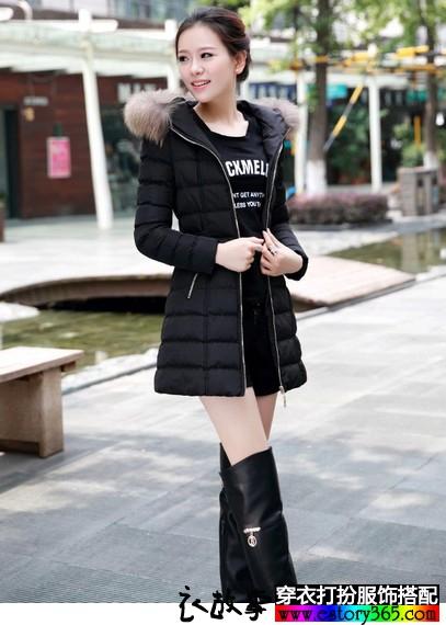 韩版女士棉衣外套