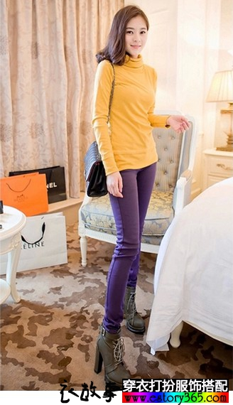牛仔裤女装铅笔小脚裤