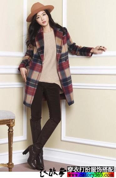 2014服饰搭配专题:毛呢大衣