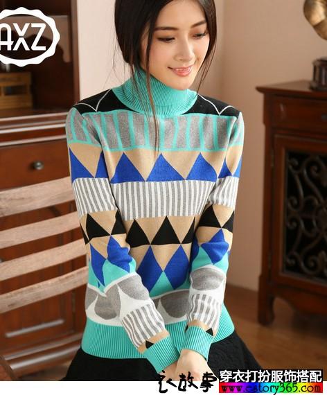 秋冬款毛衫帮助你成为百变女王