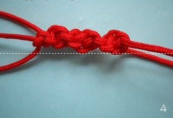 橘孖教你如何编织中国结红绳转运手链