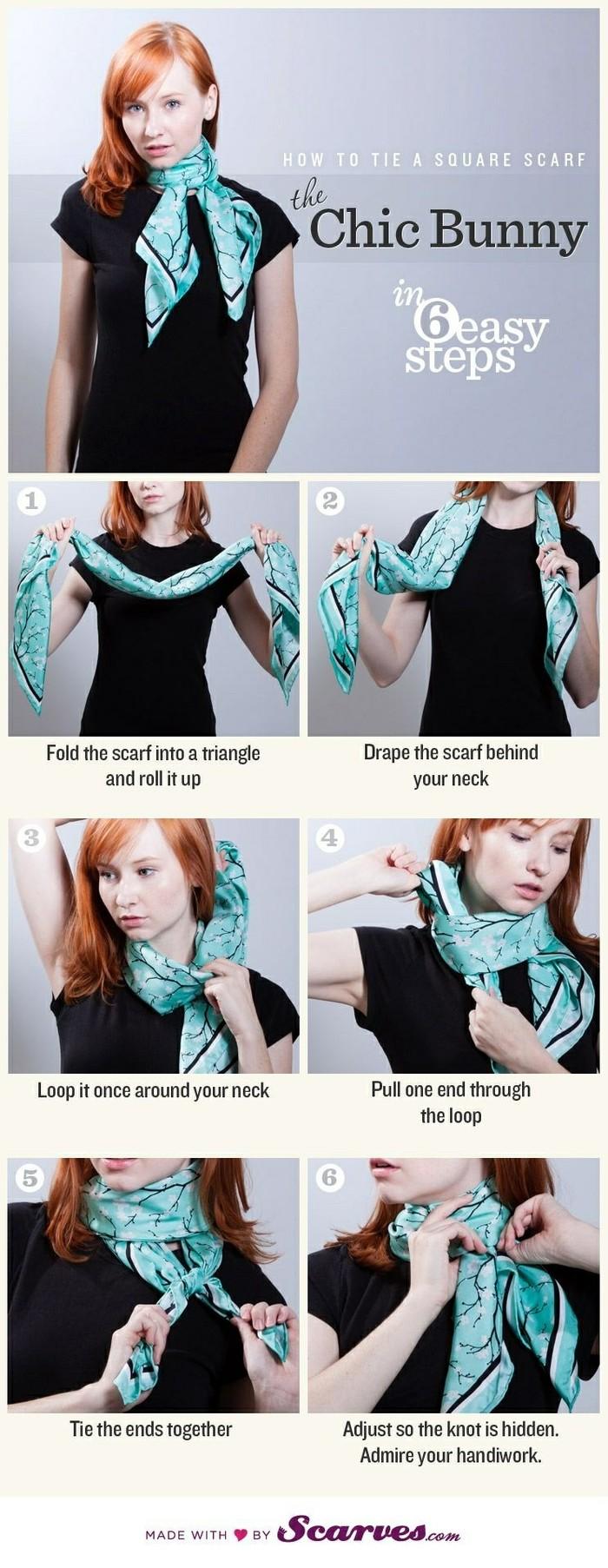 风的围巾系法,请点这里:围巾围法大全图解 60种韩国流行围巾围法之六