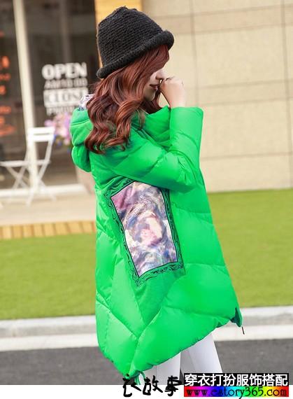 韩版印花宽松外套