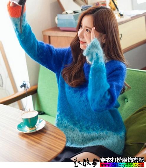 温柔的马海毛让冬季更暖和