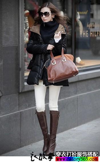 时尚保暖加厚款外套裤装推荐