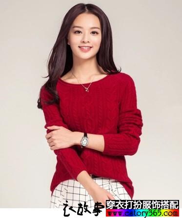 纯羊绒经典纯色毛衣