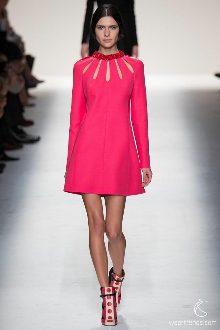 Valentino2014/15秋冬 巴黎时装周