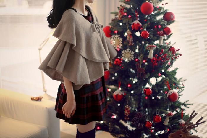 圣诞节穿搭