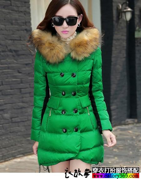 冬天大胆运用色彩_服装色彩搭配图片