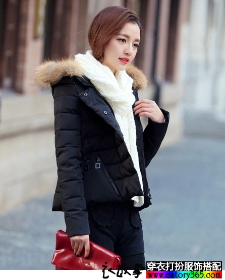 一款多色的羽绒棉服装,你喜欢哪个色彩