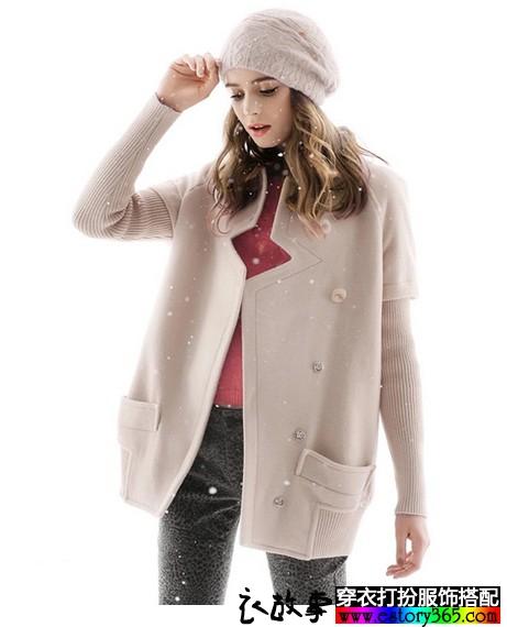 中长款羊毛呢大衣