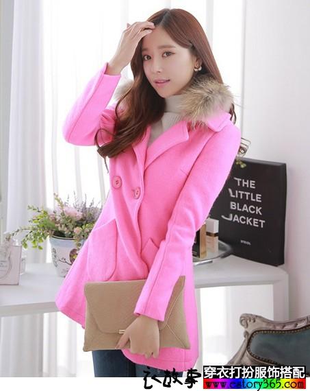 粉红色衣服怎么搭配