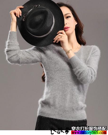 百变魅力 冬款灰色服装推荐